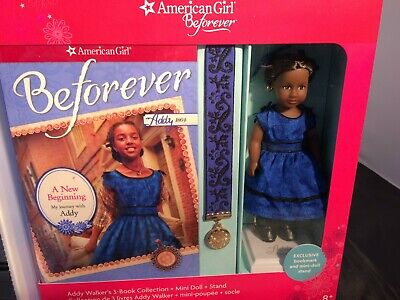 "American Girl Beforever Abby Walker-2014-New Mini  6/"" Doll /& Book"