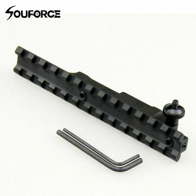 Pecar Optic Rifle Scope Base Rail Mauser 98 FN Actions Interarms Turn-In Windage