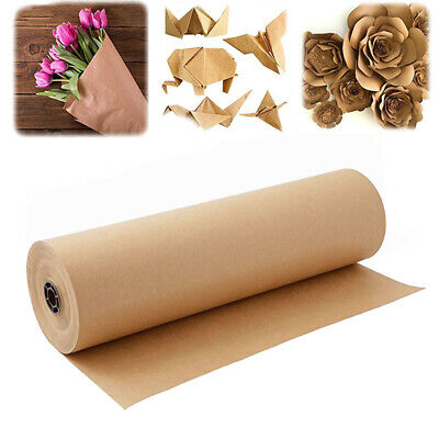 30MM x 30M STRONG BROWN KRAFT WRAPPING PAPER