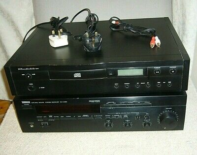 Yamaha RX-V480 Stereo Receiver with MM Phono Stage for Turntable -Free CD Player