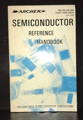 1976 Radio Shack Archer Semiconductor Reference Handbook