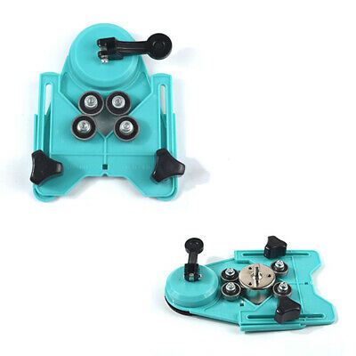 Drill Guide Vacuum Base Sucker Ceramic Tile Glass Hole Saw Openings Locator N7