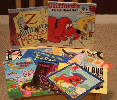 Lot of 11 Random Early Reader Beginner BOOKS - Pre-owned SCHOLASTIC Level 1 etc