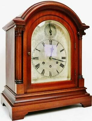 Antique Gustav Becker 8 Day Arched Top Westminster Chime Musical Bracket Clock