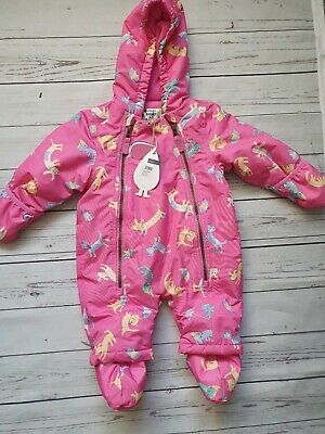 Baby Girl Joules Snowsuit 0-3 Months BNWT 🎀