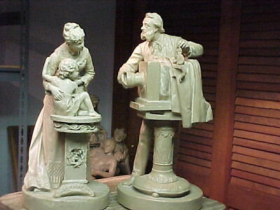 John Rogers Group of Statuary 'Photographer and Sitter'