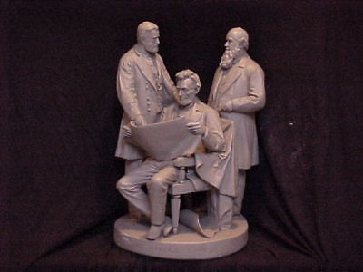 John Rogers Group of Statuary 'The Council of War ' Extremely Rare