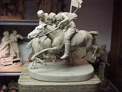 "John Rogers Group of Statuary   "" POLO ""    EXTREMELY RARE"