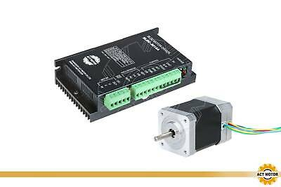 【German Ship】CNC Nema 23 Brushless DC Motor 3000RPM 24V,125W,3phs/& Driver 80VDC