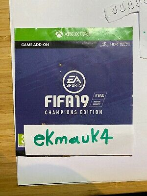 FIFA 19 Champions Edition: DLC Add-on (not Full Game) Xbox ONE