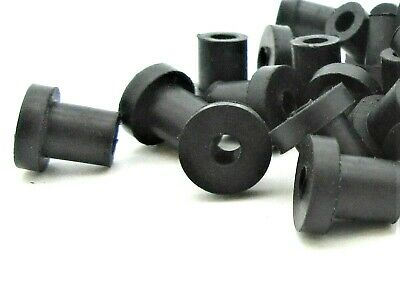 """25 Pack 9//16/"""" Rubber Push-In Bumpers  RB-563"""