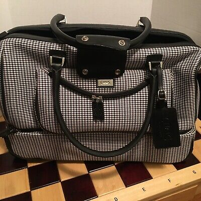 Ralph Lauren Chaps Roller/ Doudle Rolling Duffle Bag Carry-On