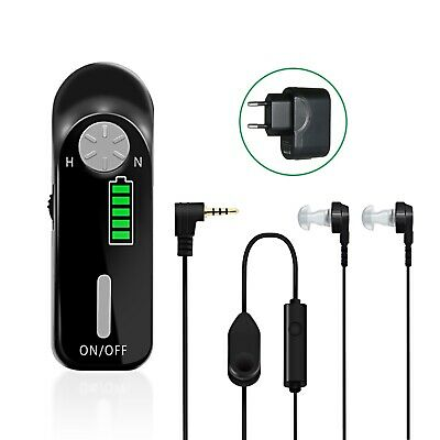 AXON C-06 Rechargeable Digital Hearing Aid Personal Sound Amplifier Hearing F6Y7