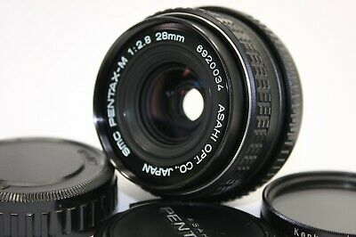 AS-IS Asahi Pentax smc Pentax-M 1:2.8 28mm Lens K mount JAPAN  #1686.1216.660
