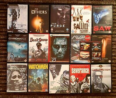 Dvd Multi Listing, Horror Genre, Multi Buy Discounts Available