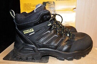 *BRAND NEW* Stanley FatMax Ontario Waterproof Safety Boots BLACK, SIZE 7