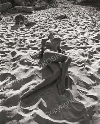 Fine Art Photo Nude 50x70cm. High-quality printing from digitized film negative.