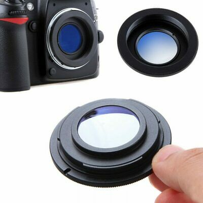 M42 Lens To Nikon Camera F Mount Adapter Ring With Glass Infinity Focus UK