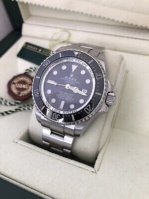 Rolex Sea-Dweller DeepSea 116660  2009 Boxes & Papers Recent Full Rolex Service