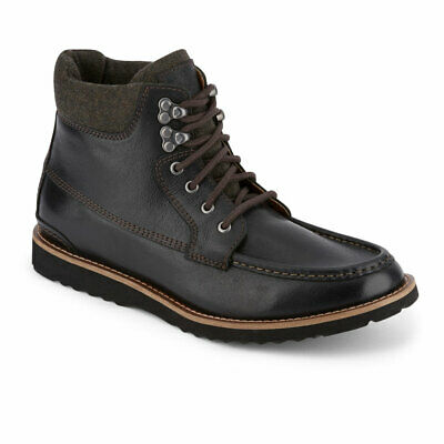 Lucky Brand Mens Stanford Genuine Leather Rugged Lace-up Rubber Sole Casual Boot