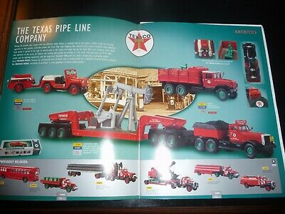 Corgi Texaco Entire Texas Pipe Line Collection with 9 new boxed diecast models