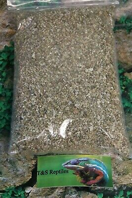 Vermiculite Substrates,Reptile,Praying Mantis Spider,Stick insect.3 litres