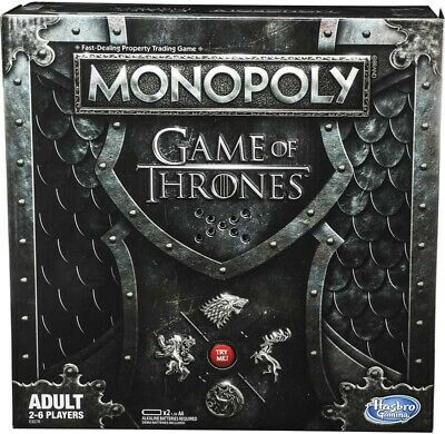 MONOPOLY GAME OF THRONES 2019  EDITION Plays GOT Theme Gift Idea *NEW* POPULAR