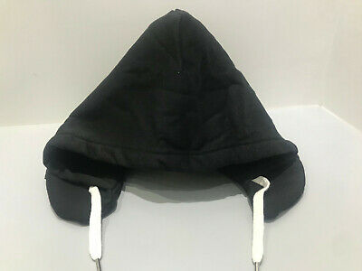 Hooded Pillow for Travel, Soft Comfortable with Privacy, Warmth & Comfort -BLACK