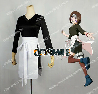 Naruto Nohara Rin Cosplay Costume Clothing Custom-made Sa