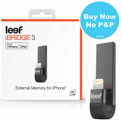 Leef iBridge 3.0 Lightning External IOS Memory for iPhone iPad 16GB 32GB 64GB