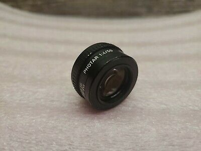 Leica Photar 50mm 1:4  Leitz Fixed Focus Microscope Photo Lens Screw Mount