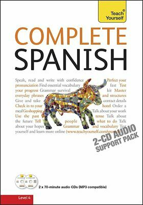 Complete Spanish Level 4 Teach Yourself Language Reading & Writing Package 2010