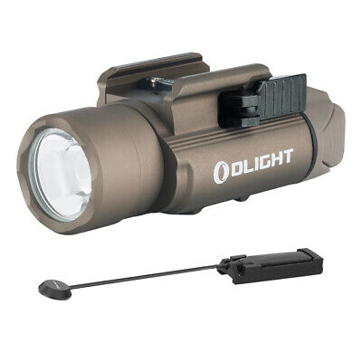 Olight PL-Pro Valkyrie Desert Tan 1500 Lumens Rechargeable + Remote Switch