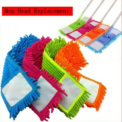 Mop Pads Cloth Reusable Flat Replacement Head Floor Cleaning Mop Pad Cleaning/