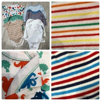 X8 Baby Boys Girls Long Short Sleeved Vests 6-9 Months Bundle NEXT F&F TU
