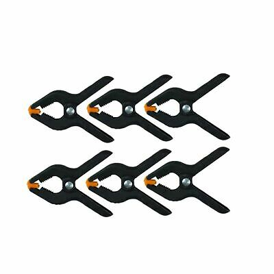 """6 x 3"""" Market Stall Spring Clamps Large Metal Heavy Duty Clips Tarpaulin Sheet"""