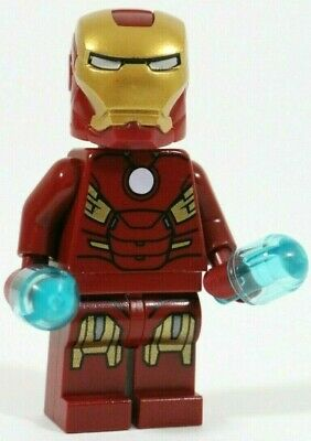 Lego Avengers Iron Man Minifigure Mark 7 Suit 10721 Vgc - Marvel Superheroes