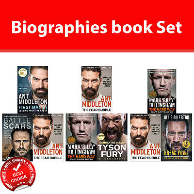 First Man In, Battle Scars, Fear Bubble, Behind the Mask, Break Point SAS Books