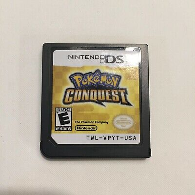 pokemon conquest for nintendo ds CARTRIDGE ONLY