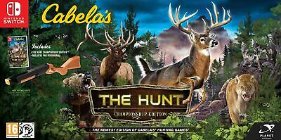 Cabela's The Hunt Championship Edition Inc Bullseye Pro (Switch) IN STOCK NOW
