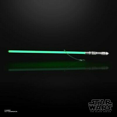 Star Wars Roleplay - Black Series Kit Fisto Force FX Lightsaber Preorder preco