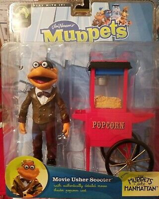 Jim Henson's Muppets: Series 8 Movie Usher Scooter by Palisades Toys Collectible