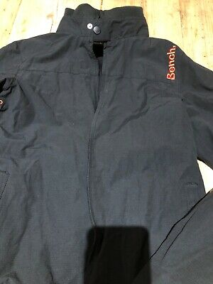 Boys Bench Black lightweight jacket age 13-14 years old - excellent condition