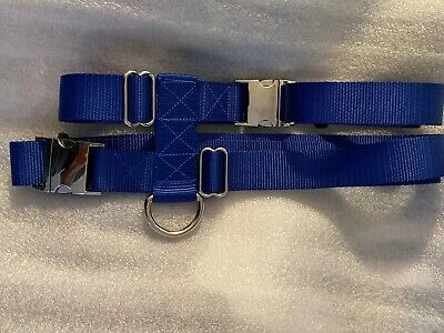 1.5 Inch Pig/Hog Harness 2 Balanced Buckles With or Without Heavy Leash USA Made