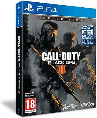 Call of Duty: Black Ops 4 - Pro Edition PS4 (Sony PlayStation 4, 2018) Brand New
