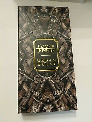 Urban Decay Game Of Thrones Eyeshadow Palette New in Box Authentic Gift Sephora