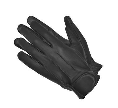 Chauffeur Real Leather Padded Palm Driving Gloves Mens Winter Gloves Black