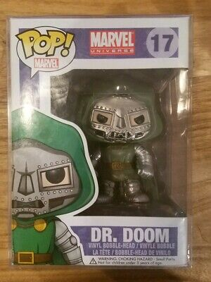 Funko Pop Marvel Dr. Doom (NIB VAULTED RARE HTF)