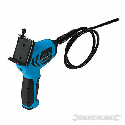 Video Inspection Endoscope Camera Borescope Using Mobile Phone Silverline 725352