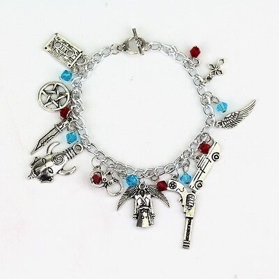 Supernatural Charm Bracelet Charms Antique Silver Alloy Jewelry